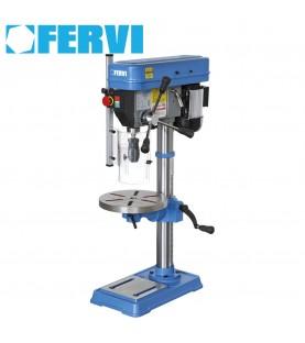 Drill press with drive belt FERVI T032
