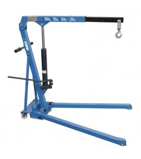 Hydraulic folding crane 10t FERVI 0072A