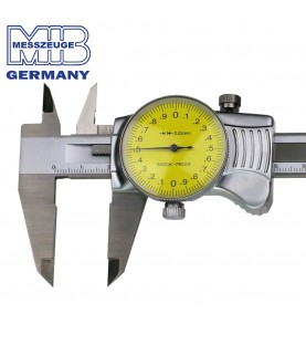 """150mm Dial caliper INOX """"TOP/S"""" MIB 01004020"""