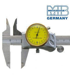 150mm Dial caliper TOP with hidden gear rod MIB 01004026