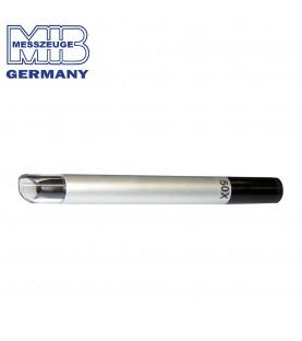 122x12mm (100x) Precision pen microscope with scale 0,01mm MIB 01005062