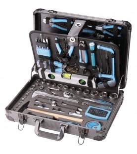Tool box with accessories 162pcs. FERVI 0105
