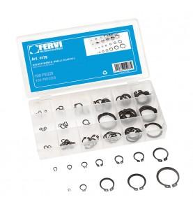 Snap ring set 100pcs FERVI 0179