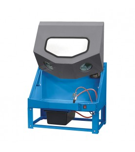 Bench part washer with a venturium pneumatic gun FERVI 0203