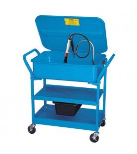 Degreaser cleaning tank with wheel FERVI 0232
