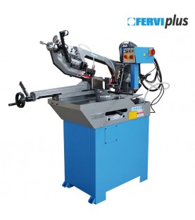 Metal band saw with manual and hydraulic feed FERVI 0273