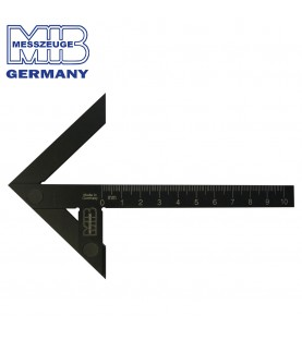 150mm Precision Center Square made of Black Aluminium HRC63 MIB 03044021