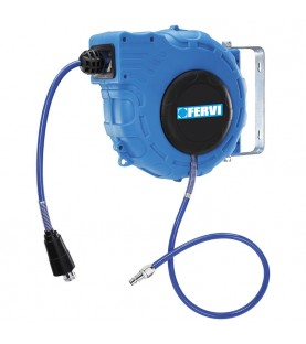 Auto rewind air hose reel FERVI 0481/15