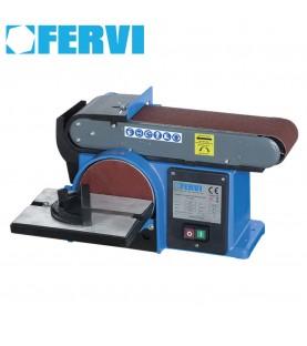 Tilting bench belt sander FERVI 0505