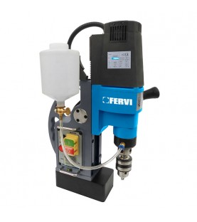 175mm Magnetic drill with coolant system FERVI 0518/30
