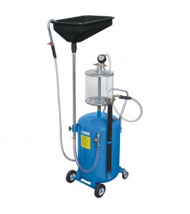 Pneumatic oil drainer 70l FERVI 0596