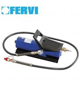 Hydraulic pump with pneumatic pedal control FERVI 0664