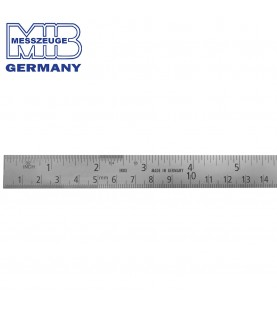 150x18x0,5mm Stainless steel rule CHESTERMAN MIB 07074040