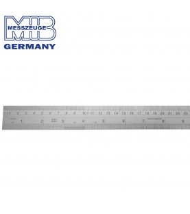 500x30x1mm Stainless steel rule CHESTERMAN MIB 07074042
