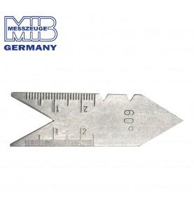 60° Centre thread cutter gauge MIB 08083001