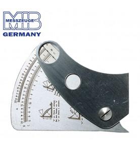 1/10mm Universal welding seam gauge INOX MIB 08085005