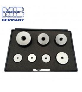 M3-M12 Thread ring gauges set 7pcs DIN 13 GO MIB 08088435