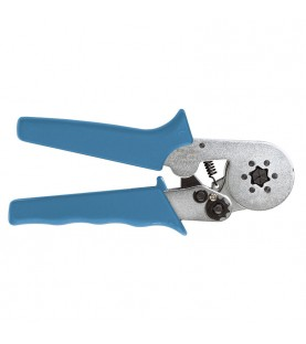Crimping plier for end sleeves terminals FERVI 0847