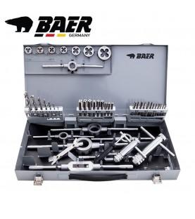 M3-M12 Hand taps, cutting dies and tools set 46pcs