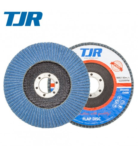125mm ZK120 Flap discs for steel & stainless steel