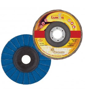 V2 POWER 125mm ZK40 Flap disc LUKAS 1195040