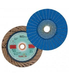 SLTflex 115mm ΖΚS40 Lamellar Flap Discs LUKAS 1197229