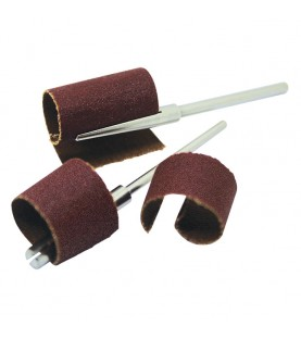 3x60mm with 2,35mm shank arbors for ρolled abrasive paper