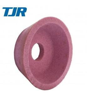 125x50x32mm Pink angle Cup Wheel Grit 60 TJR 312550321