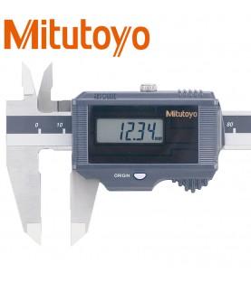 150mm (0,01mm) Digital calliper gauge IP67 Solar, depth bar 1,9mm MITUTOYO 500-792