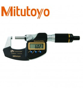 0-25mm (0,001mm) Digital outside micrometer QuantuMike IP65 with data output MITUTOYO 293-140-30