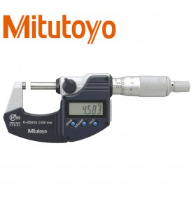 0-25mm (0,001mm) Digital outside micrometer IP65 with data output MITUTOYO 293-230-30