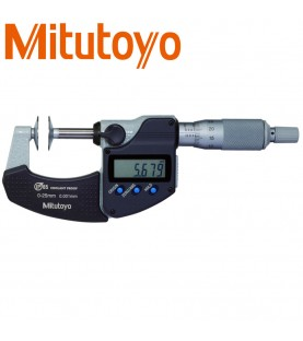 0-25mm D7 (0,001mm) Digital outside micrometer IP65 with disc measuring faces MITUTOYO 323-250-30