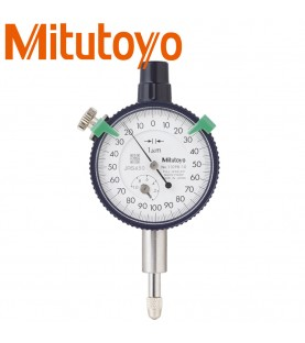 1mm Dial indicator (0,001mm) outer ring 40mm, jewel bearing, with eyelet MITUTOYO 1109S-10