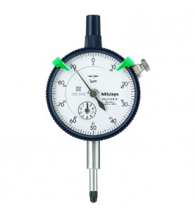 1mm (0,001mm) Dial indicator outer ring 57mm, shock-proof, 1 rotation 0,1mm MITUTOYO 2110SB-10