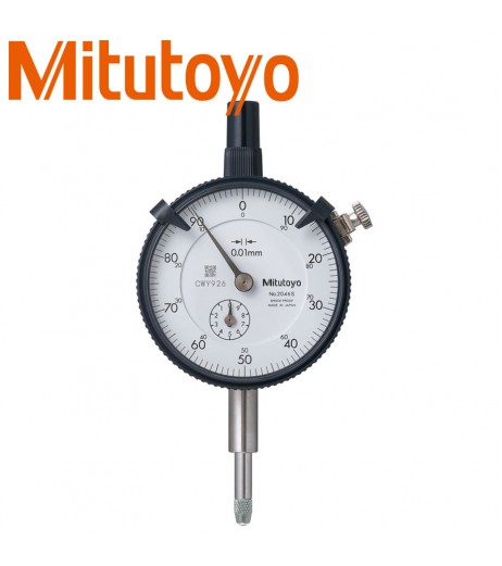 10mm Dial indicator (0,01mm) outer ring 57mm, with eyelet MITUTOYO 2046S