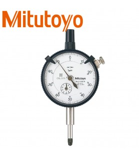 1mm (0,001mm) Dial indicator outer ring 57mm, shock-proof, 1 rotation 0,1mm MITUTOYO 2110S-10