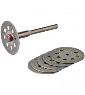 Rotary tool diamond vented cutting disc set 6pcs