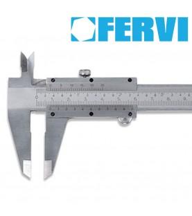 150mm Chromed Vernier Caliper FERVI C019/150