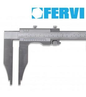1000mm Monoblock stainless steel chromed vernier caliper FERVI C021/1000