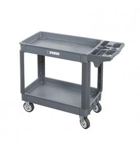 PP Two shelves tool cart FERVI C065/2