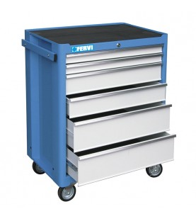 Tool rolling cabinet with 113 tools FERVI C900/CC01