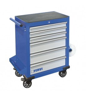 Tool rolling cabinet with 6 drawers FERVI C960/F6