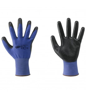 13 Gauge seamless polyester clove / nitrile Νο9 FERVI GL386/09