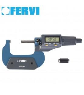 75-100mm Electronic digital micrometer FERVI M021/75/100
