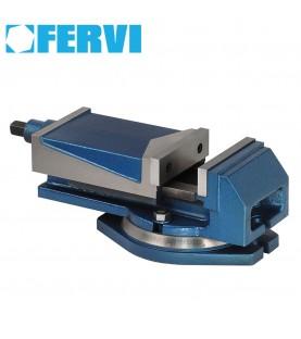 100mm Milling machine vice with 360° swivel base FERVI M023/100