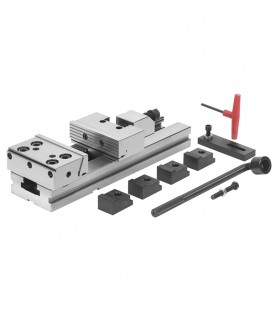 200mm High precision steel modular vice FERVI M028/200/600