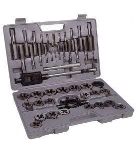 Tungsten steel tap and die metric set 45 pcs FERVI M100