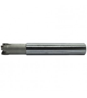 25mm 90° High feed milling cutter with 25mm shank and 170mm length for XNEX ..0403.. inserts