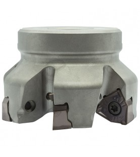 125mm 90° High feed milling head with 40mm hole for XNEX ..0806.. inserts