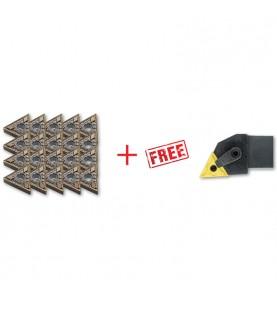 TNMG160404 insert 20pcs + FREE MTJNR/L…B Toolholder